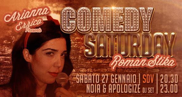 """COMEDY SATURDAY ovvero """"il Sabato me la Rido!"""" – con Arianna Errico"""