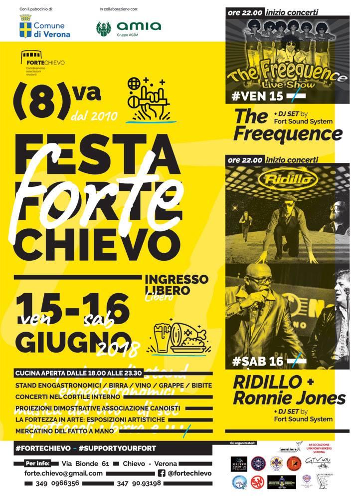 8(va) Festa delle associazioni Forte Chievo