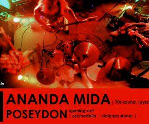 LIVE | ANADA MIDA + POSEYDON | The Stoner Mafia – giovedì 31 gennaio 2019 –