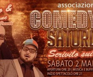 "COMEDY SATURDAY – Omino e Barone in ""Scrivilo sui muri"" – sabato 2 marzo 2019 –"