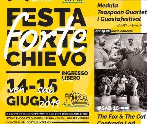 Festa delle Associazioni con sede a #fortechievo (Verona) – 14 e 15 giugno 2019 –